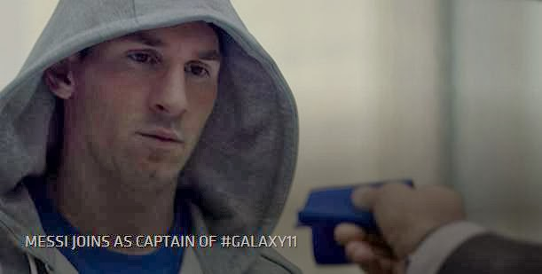 Lionel Messi and Football Will Save The Planet in Samsung 11 New Ad Campaign