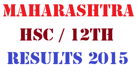 Maharashtra Board HSC 12th Result 2015