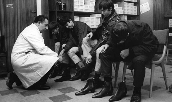 The Beatles Shoes Boots