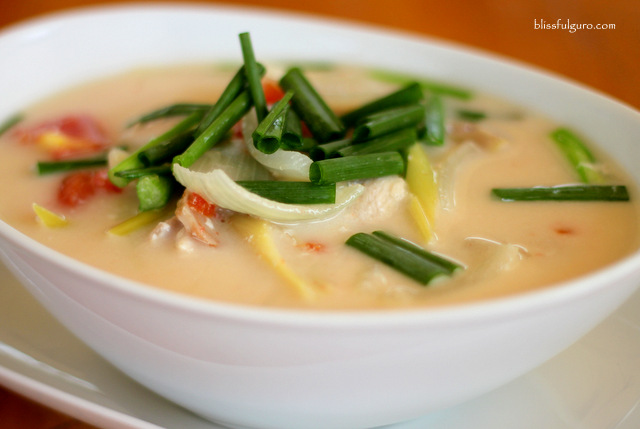 Chicken Coconut Soup Thailand