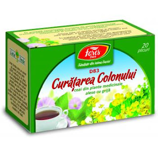 Ceai recomandat pentru curatare colon