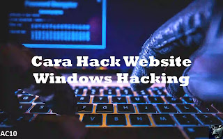 Cara Hack Website/Deface Dengan sqlmap di Windows