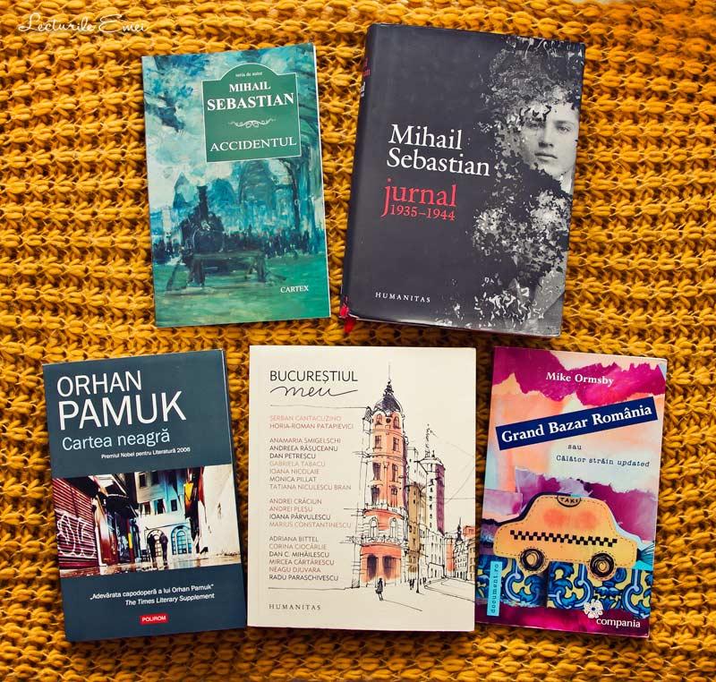 Cărți achiziționate recent Jurnal Mihail Sebastian