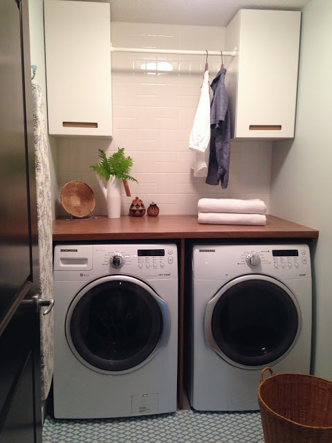 simple ideas for functional laundry room
