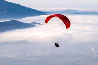 paragliding - adventure sports - meraki