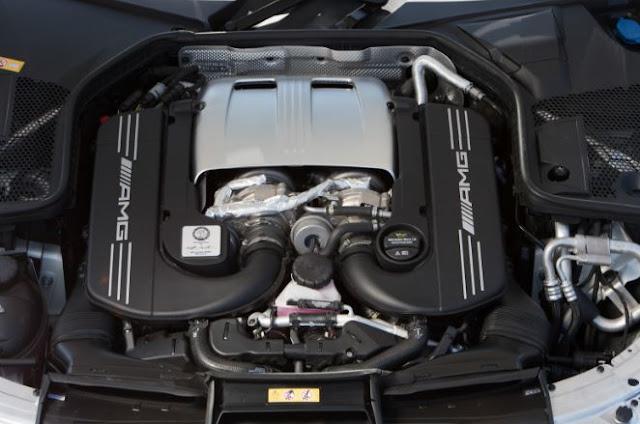 2017 Mercedes-AMG C63 S Cabriolet Engine