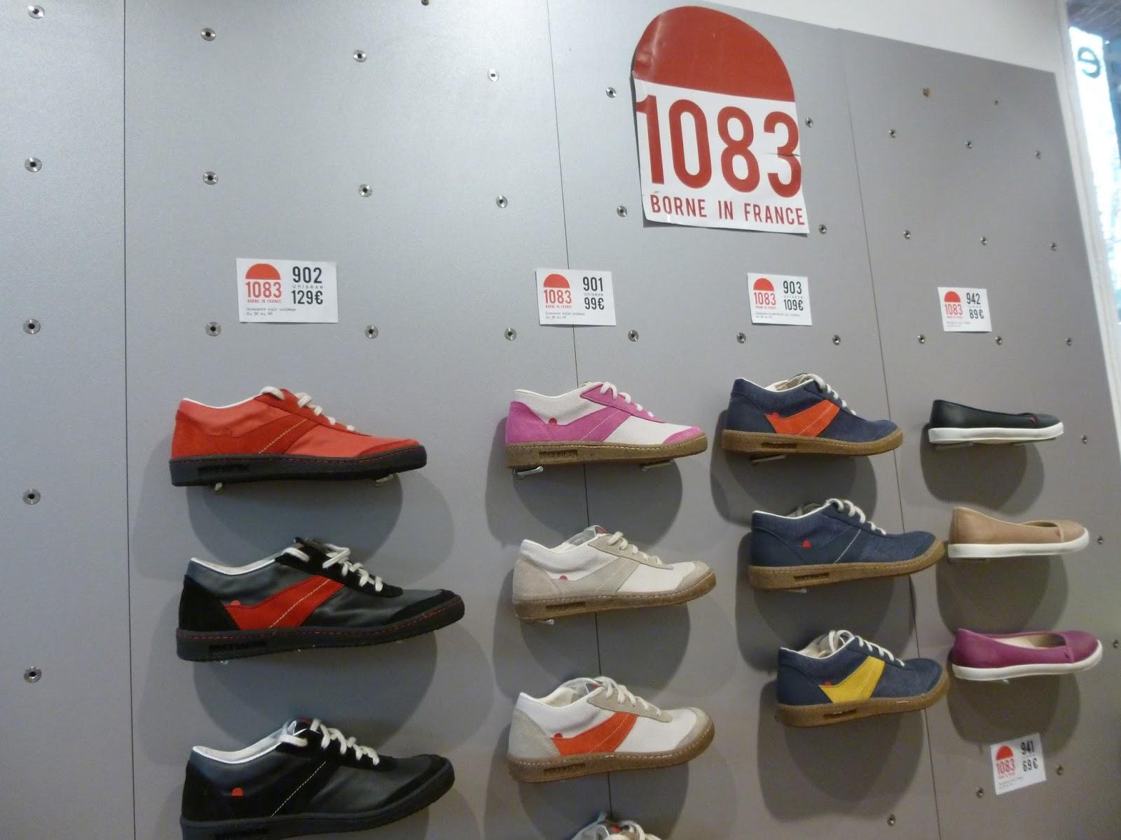 Les sneakers, ballerines et sandales, proposées par 1083, entièrement  fabriquées à Romans, esthétiques, confortables et ...