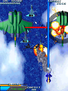 Skull Fang: Kuhga Gaiden+arcade+portable+game+shoot'em up+bullet hell+download free