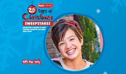 DISNEY 25 DAYS OF CHRISTMAS SWEEPSTAKES