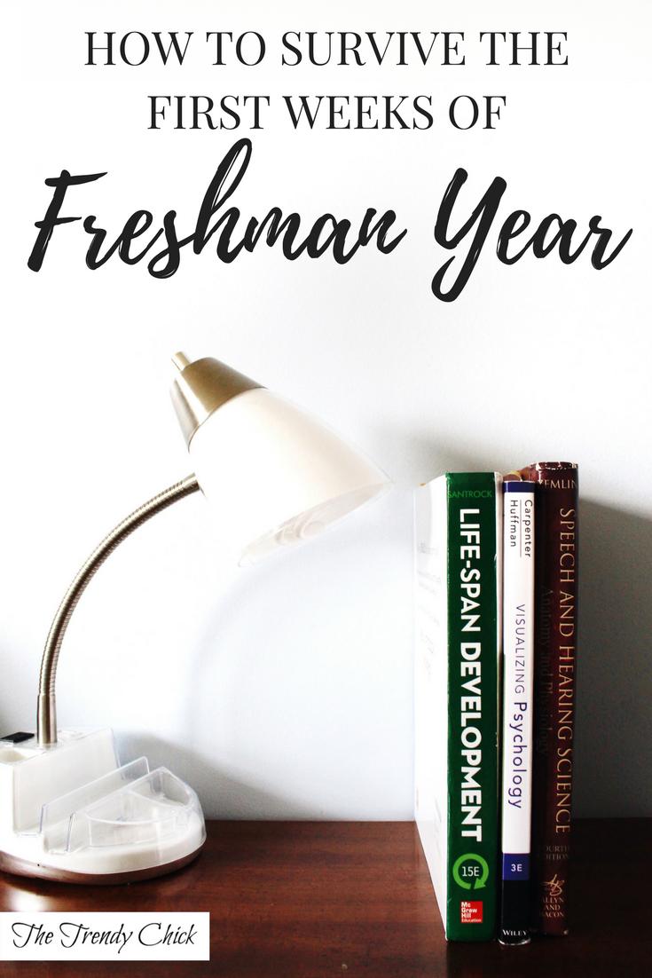Tips for Incoming Freshmen