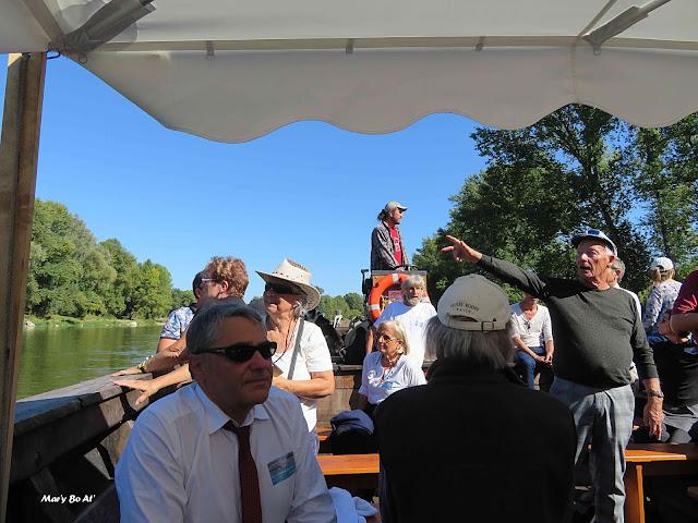 Sortie en Loire avec l'association Boutavant de Tours
