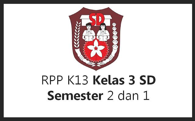 RPP K13 Kelas 3 SD