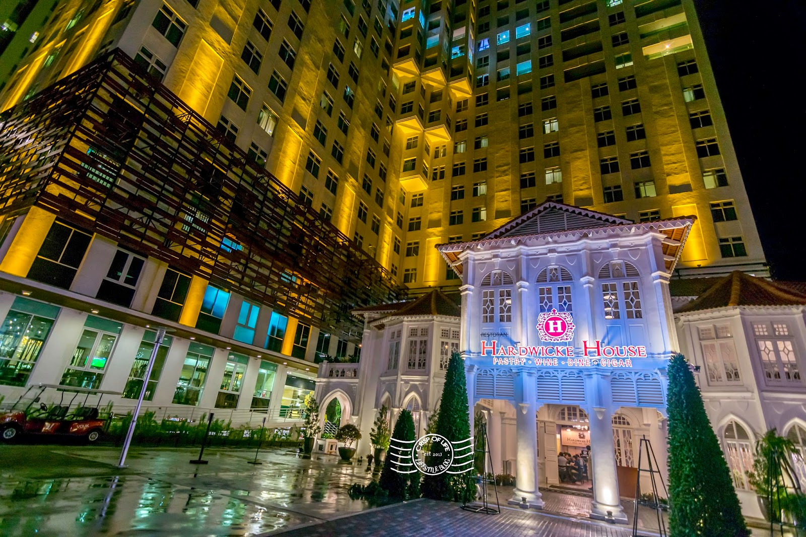 Christmas Buffet Dinner Under The Stars at Hardwicke House(Pastry, Wine, Dine, Cigar) @ Vouk Hotel, Penang