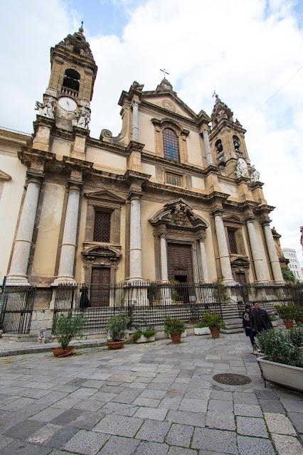Chiesa di Sant'Ignazio all'Olivella-Palermo