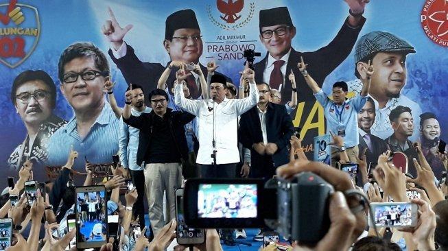 Deklarasi Dukung Prabowo-Sandi, UBN: Tuduhan Khilafah Itu Sangat Tolol