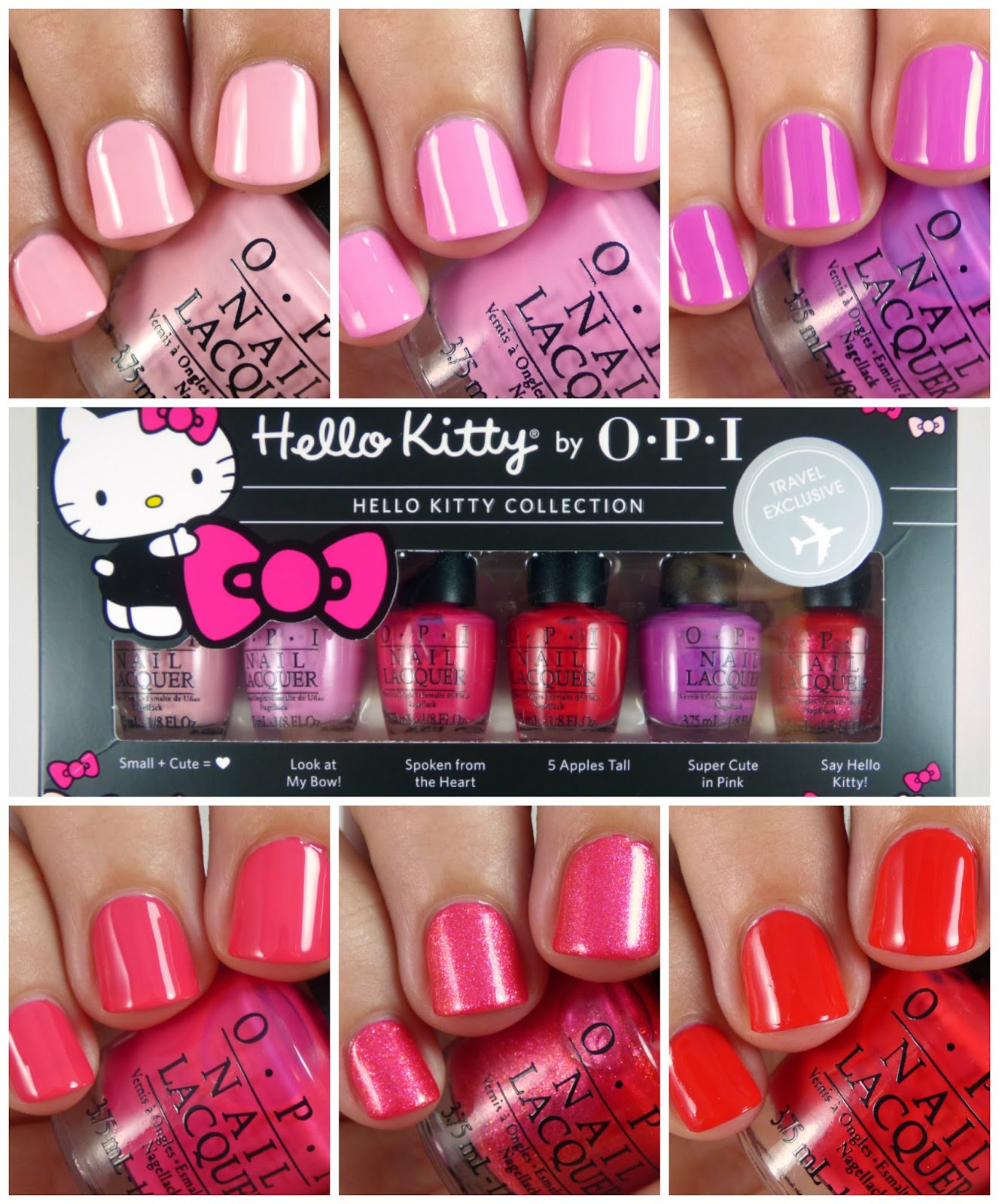 Opi Hello Kitty 2016 Travel Exclusive