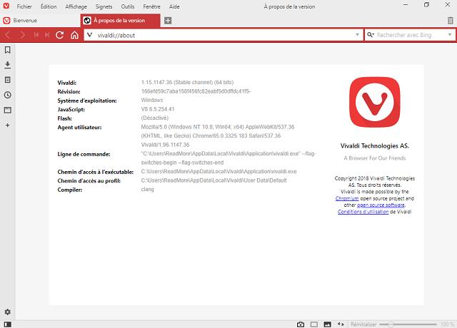 تحميل متصفح الإنترنت الرائع فيفالدى Vivaldi للويندوز