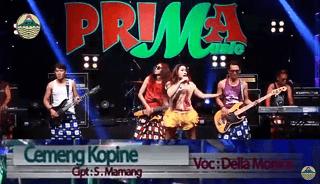 Lirik Lagu Cemeng Kopine - Della Monica
