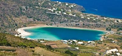 A Bigger Splash filminin çekimleri Pantelleria Adası'nda yapıldı.