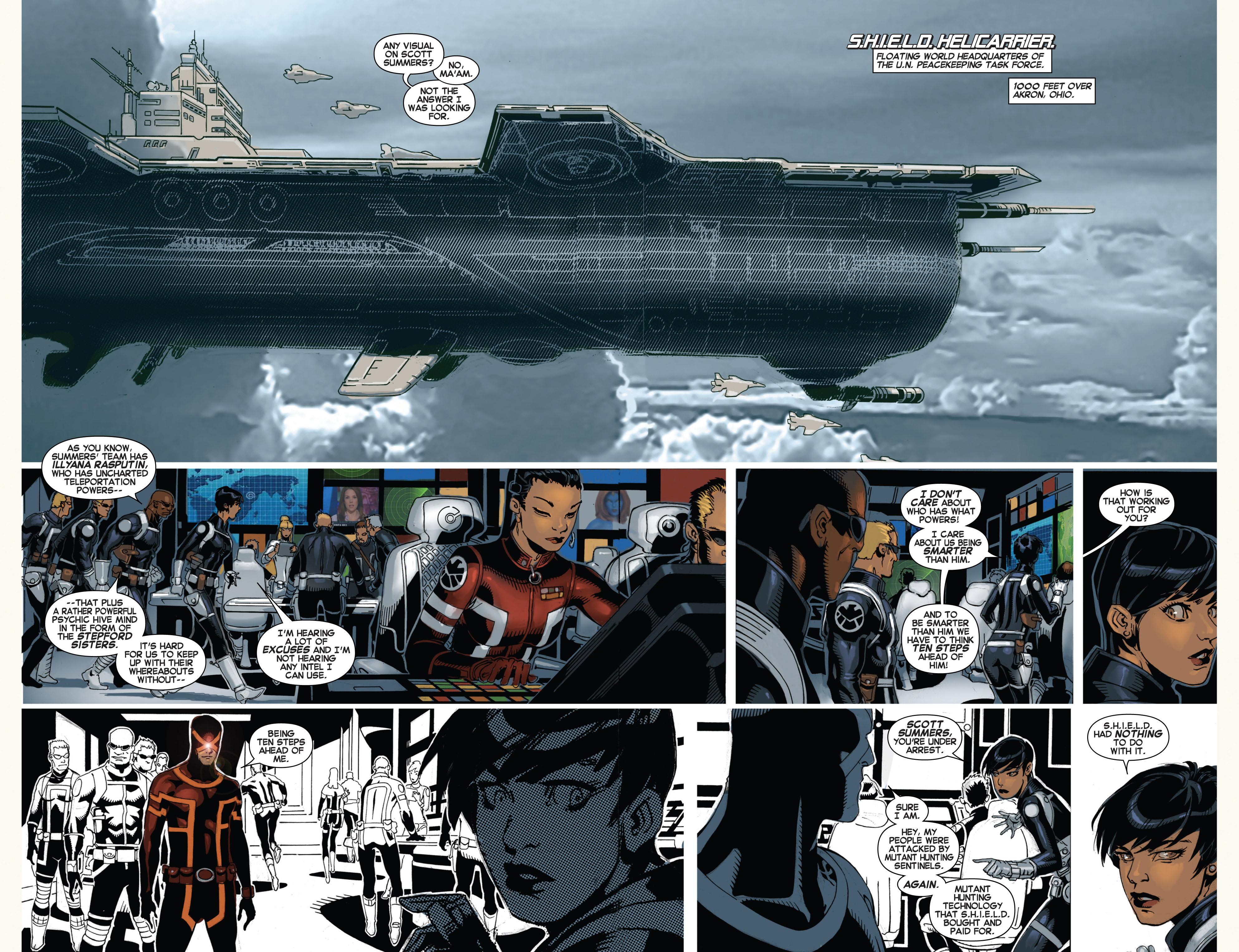 Read online Uncanny X-Men (2013) comic -  Issue # _TPB 4 - vs. S.H.I.E.L.D - 25