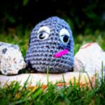 patron gratis piedra amigurumi