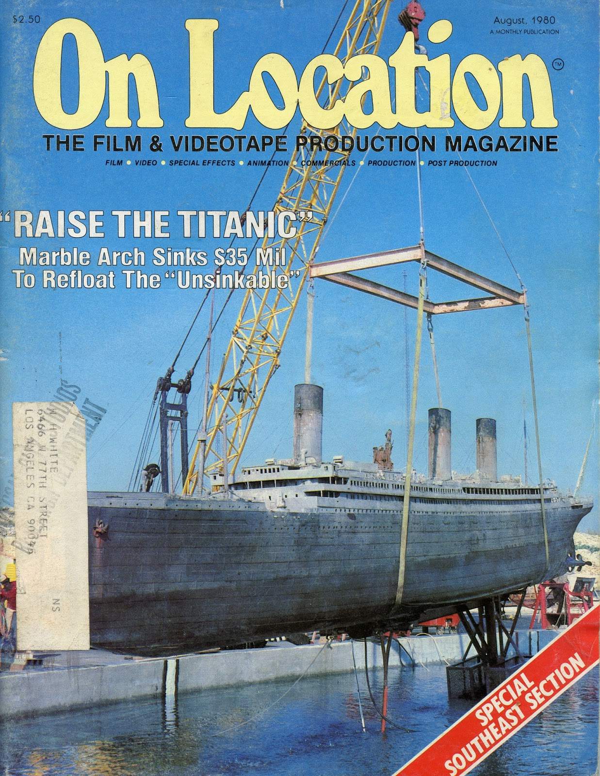 Clive Cussler Book Collecting Raise The Titanic On Location