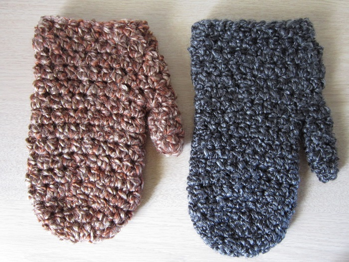 crochet patterns, mittens, gauge