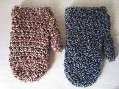 crochet patterns, mittens, gauge