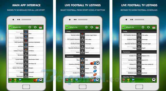 Apliaksi menonton siaran bola langsung di android gratis