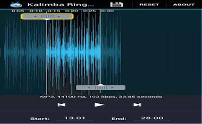 Aplikasi Edit Lagu dengan MP3 Cutter and Ringtone Marker