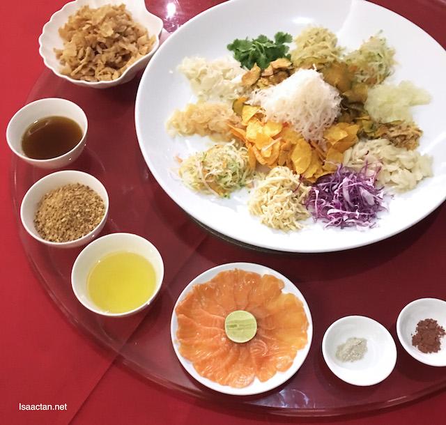 Chinese New Year Prosperity Set Menu @ Pullman Kuala Lumpur Bangsar