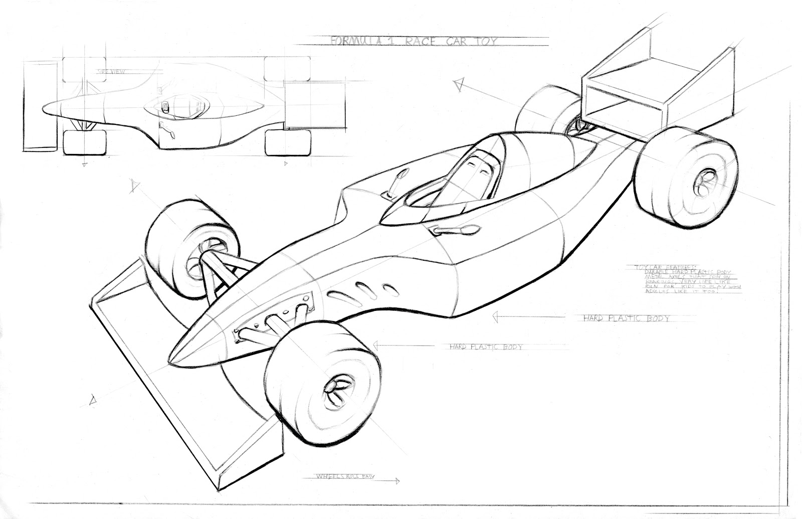race car chassis diagram 2