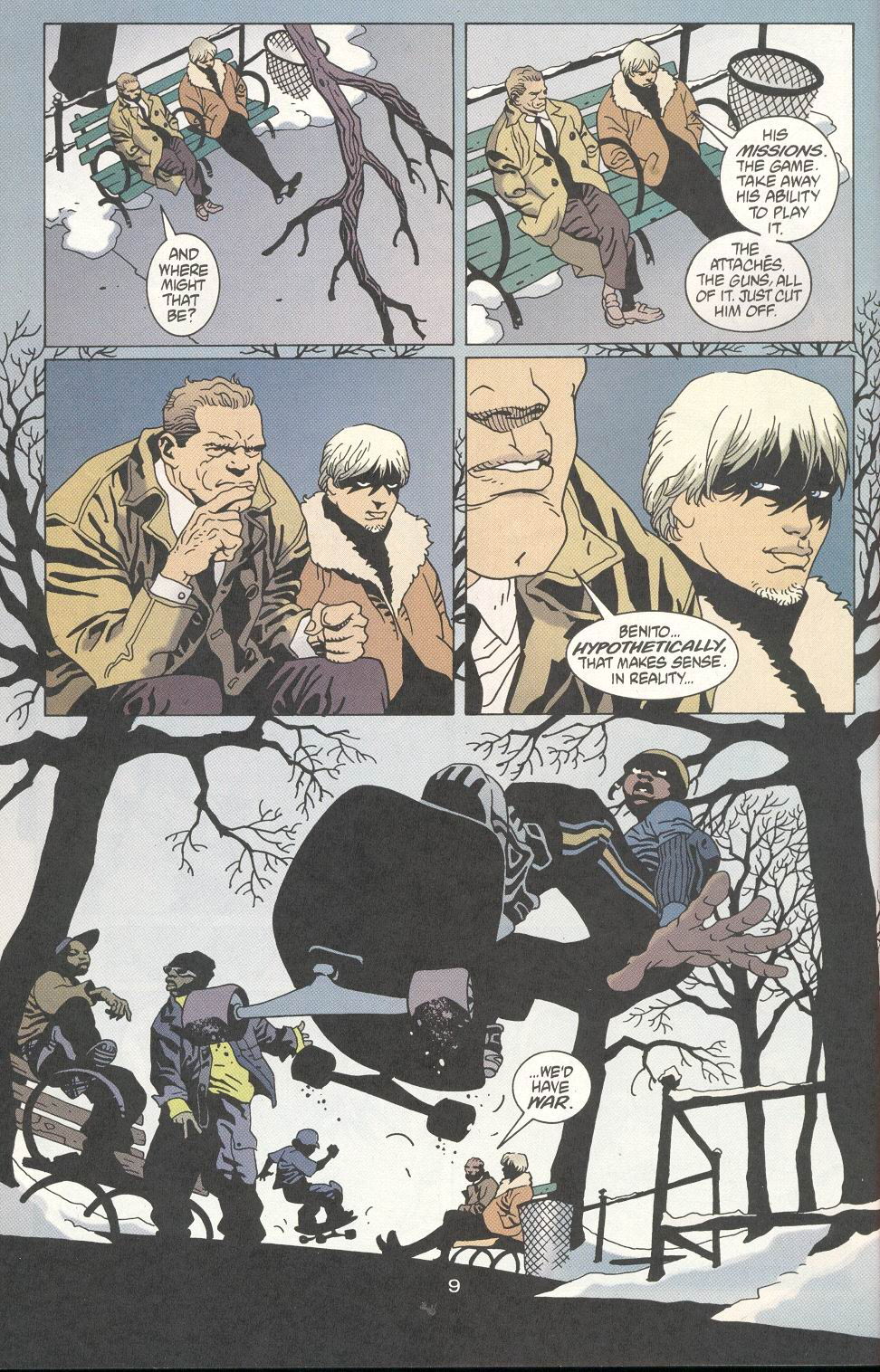 Read online 100 Bullets comic -  Issue #20 - 11