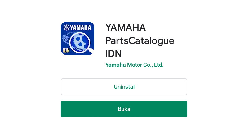 gambar cek sparepart Yamaha