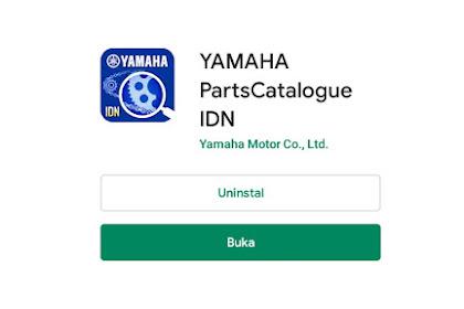 Cek Harga Spareparts di Yamaha Parts Catalogue, Ternyata Akurat Juga