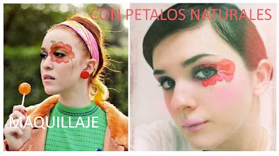 Maquilla tus Ojos con Petalos de Flores Naturales