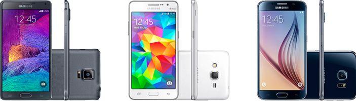Comprar Aparelhos Samsung Galaxy