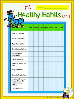My Healthy Habits Charts