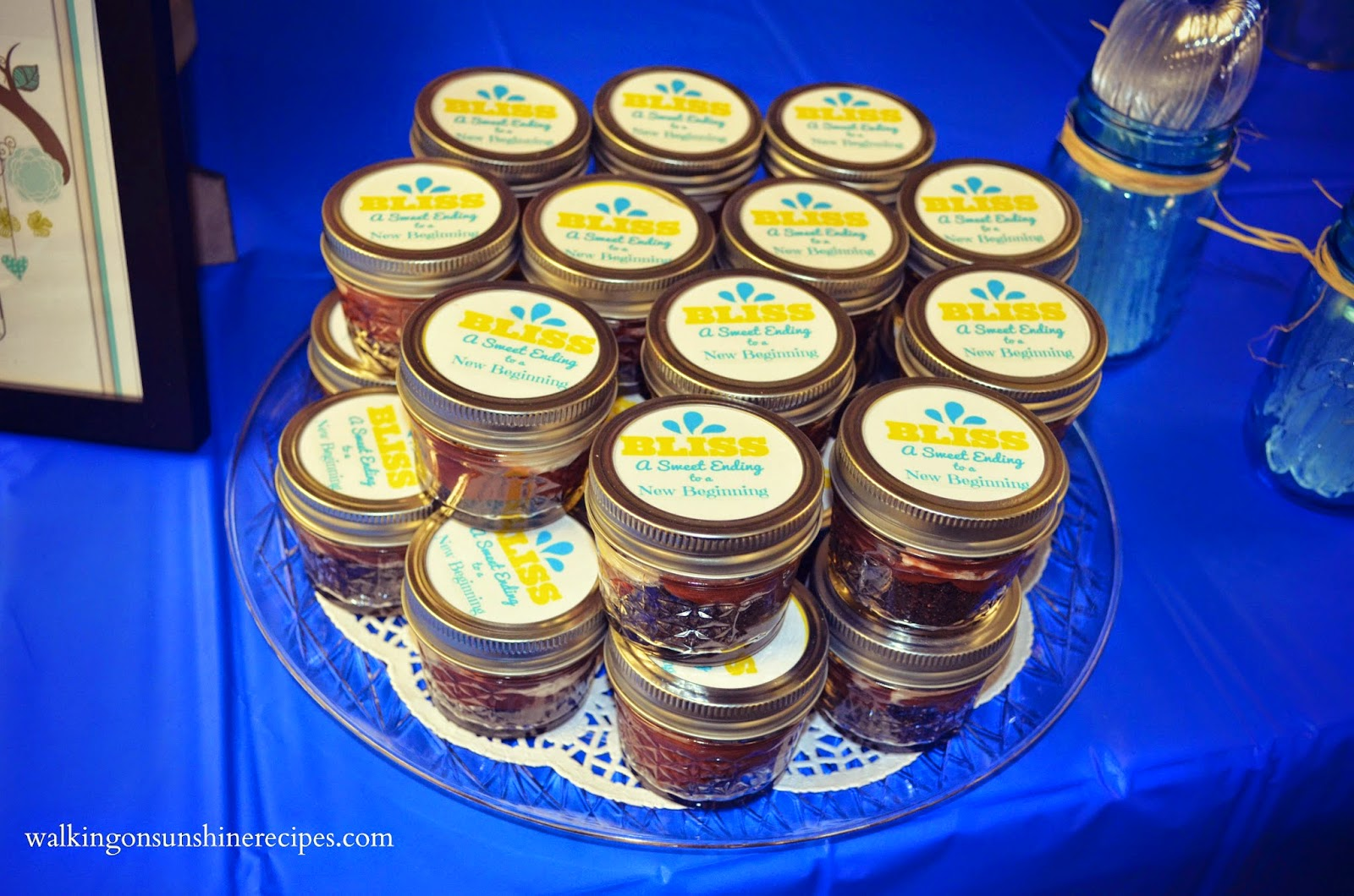 Mason Jar Pudding with Free Printable Topper Labels