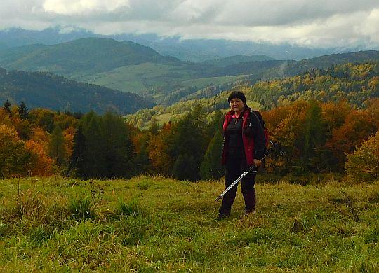 Nad doliną Wierchomlanki.