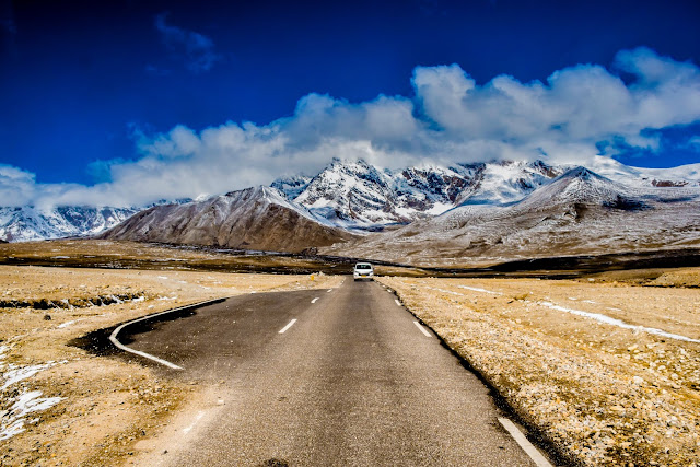 On the Way to Gurudongmar @DoiBedouin
