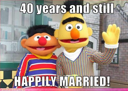 gay bert and ernie family guy