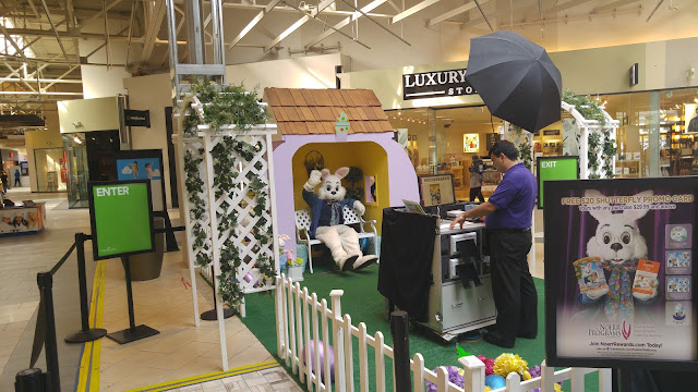 Easter Bunny at the Great Mall