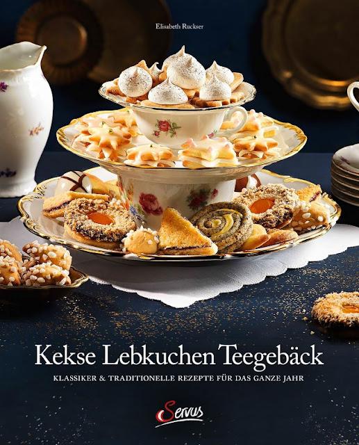 {Buchwerbung} Kekse Lebkuchen Teegebäck Servus Buch-Verlag Elisabeth Ruckser #weihnachten #backen #kekse