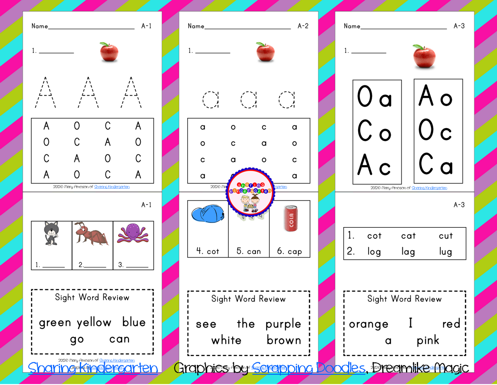 Freebielicious Phonics Pack
