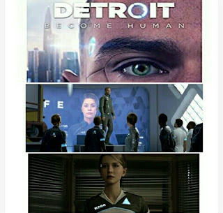 Video Game - Detroit Become Human -  Sony PS4