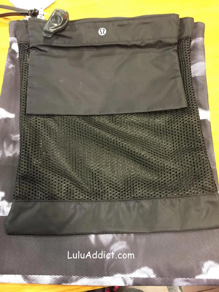 lululemon zip bag