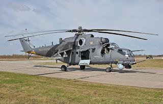 Helikopter Serbu Mi-35M