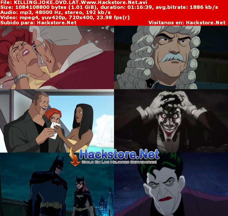 Capturas de Batman: The Killing Joke (2016) DVDRip Latino + Subs