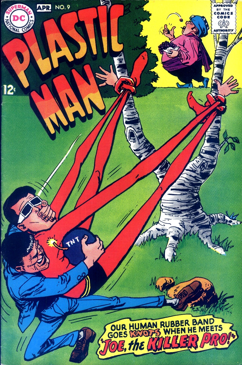 Plastic Man (1966) issue 9 - Page 1